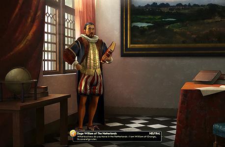 """""""אוקיי, אז את מי מתחשק לי לכבוש היום?"""", צילום מסך: civilization 5"""