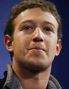 """מרק צוקרברג, מנכ""""ל פייסבוק"""
