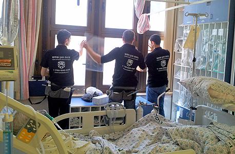 מגן שמש תמגן חלונות ב-14 בתי חולים ב-8 מיליון שקל