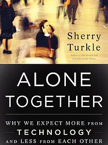 """עטיפת ספרה של טרקל """"ביחד לבד"""""""