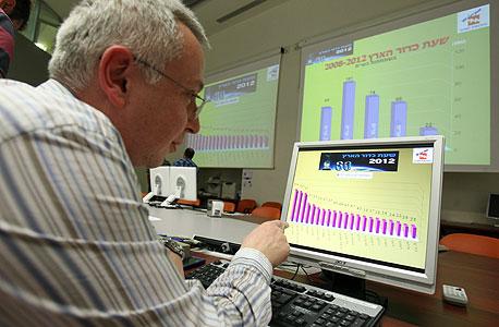 """חמ""""ל הסייבר החדש של חברת החשמל יספק את ההגנה על  רשתות התקשורת של החברה, צילום: אלעד גרשגורן"""