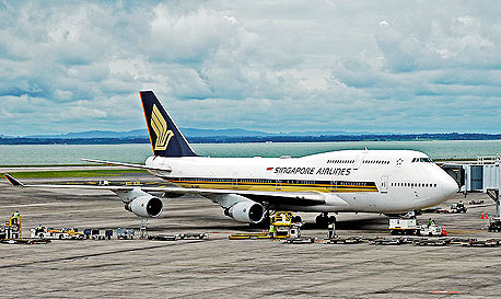 מטוס של חברת התעופה סינגפור איירליינס, צילום: cc by Phillip Capper