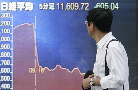 """המפולת בשוקי ההון בעולם: ת""""א ירדה ב-5.5%, בורסת רוסיה קרסה, עליות בוול סטריט"""