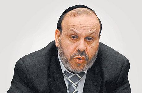 """השר הקודם לשירותי דת דוד אזולאי (ש""""ס) ז""""ל. נפטר במהלך הקדנציה באוקטובר 2018"""