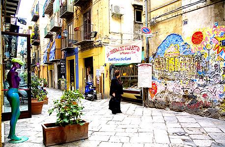 פלרמו, בירת סיציליה, צילום: איי אף פי