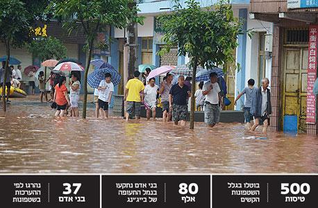 הודו: 39 הרוגים בשטפונות מיום שני בדרום המדינה, 70 אלף פונו