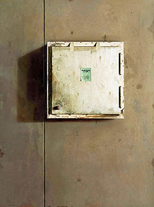 """""""הבקר"""", 2011, שמן על עץ, 122x90 ס""""מ, עבודה של ערן רשף"""