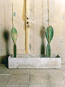 """""""צברים"""", 2011-2010, שמן על עץ, 165x150 ס""""מ, אוסף מוזיאון תל אביב, עבודה של ערן רשף"""