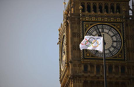 הביג בן והדגל האולימפי