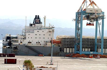 נמל אילת, צילום:ג