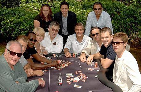 משפחת שיינברג, פוקרסטארס, עם שחקני אושן 13