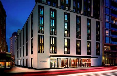 מלון בולגרי. הפנטהאוז הוא הנכס היקר ביותר בלונדון