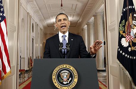 הנשיא ברק אובמה, צילום: בלומברג