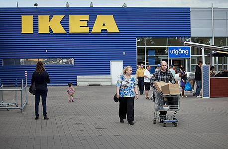חנות של איקאה בשטוקהולם שבשבדיה. רוב ההכנסות מקורן במדינות אירופה