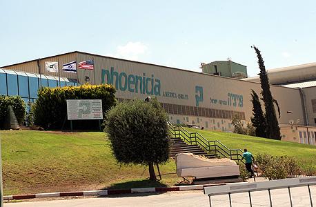 מפעל פניציה בציפורית (ארכיון), צילום: גיל נחושתן