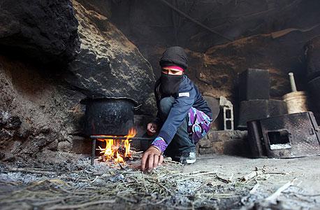 מערת מגורים בכפר ג'ינבה