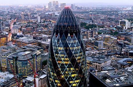 לונדון. מחירי הדיור בבריטניה היו אמורים לרדת