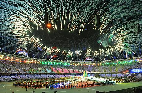 """רווחי לונדון 2012: יותר מ-377 מיליון ליש""""ט"""