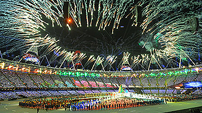 טקס סיום אולימפיאדת לונדון. צילום: אם סי טי , צילום: אם סי טי