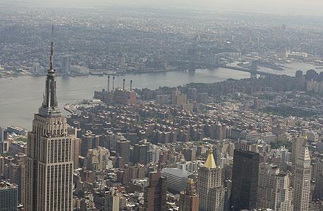 האמפייר סטייט בילנדינג בניו יורק. העיר הביטה לעתיד על ידי בניית גורדי שחקים