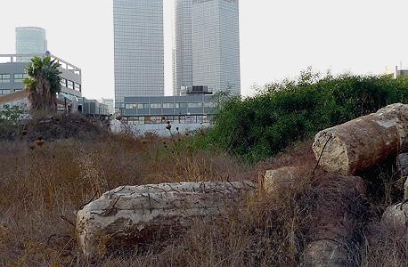 מתחם תעש הישן בדרך השלום בגבול גבעתיים-תל אביב
