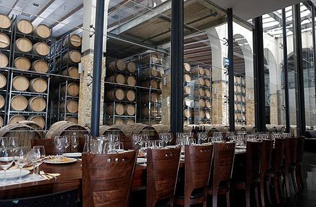 מרכז המבקרים. שלבי ייצור היין