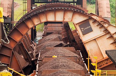 מכרה ברזל, צילום: בלומברג