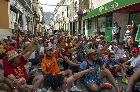 הפגנות בספרד. זמן ללאומיות הקטלאנית להרים ראש?