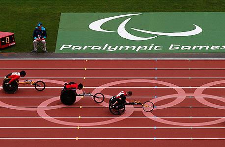 המשחקים הפראלימפיים בלונדון. הכנסות שיא, צילום: רויטרס