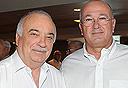 ראובן שפיגל ואליעזר פישמן, צילום: ראובן קסטרו