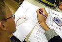 מבחן במתמטיקה, צילום: אי פי אי