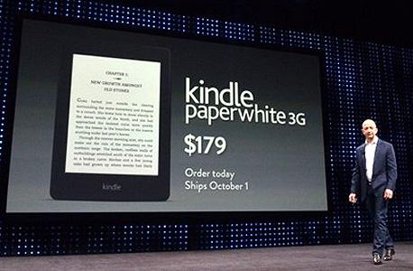 קינדל פייר של אמזון. הטאבלט השני הכי נמכר בארצות הברית, עם נתח שוק של 21%