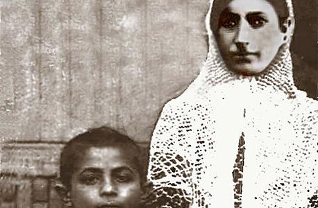 1934. יצחק נזריאן בן 5 עם אמו אביבה בטהרן