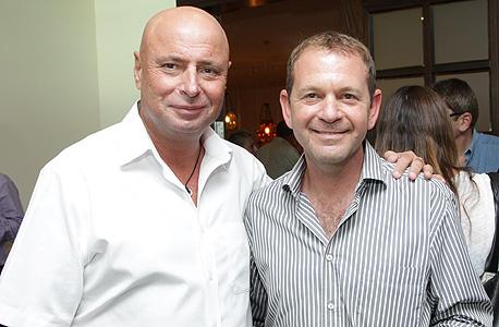 אורי סירקיס (מימין) ודוד קמיניץ , צילום: רפי דלויה