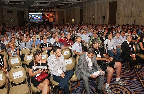חלק מבאי הוועידה, צילום: נמרוד גליקמן