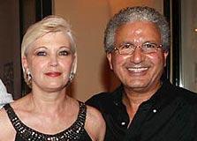 משה ופנינה אדרי, צילום: אוראל כהן