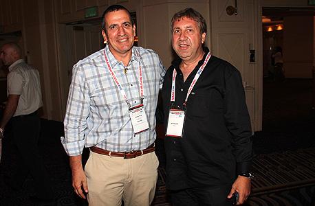 """מנכ""""ל מפעל הפיס לשעבר, יעקב ברדוגו ואיל וולדמן, יו""""ר ומנכ""""ל מלאנוקס"""