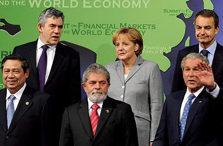 כינוס מנהיגי ה-G20 בכינוס חירום בנובמבר 2008
