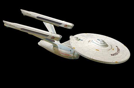 """ספינת החלל אנטרפרייז מתוך """"מסע בין כוכבים"""". בקרוב במציאות?"""