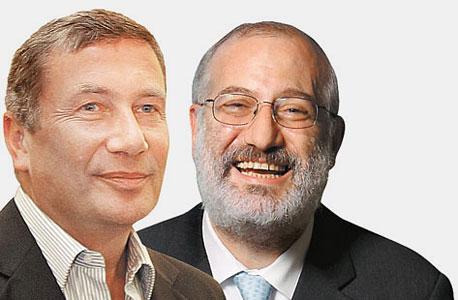 אדוארדו אלשטיין ונוחי דנקנר, צילום: אוראל כהן