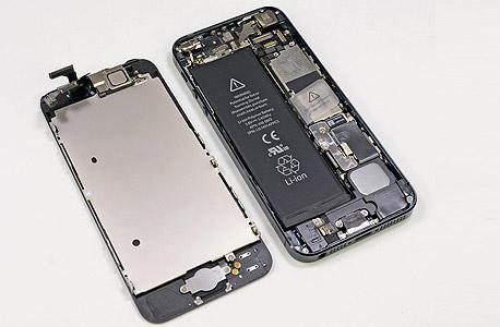 מורכב לייצור. האייפון 5, מבפנים