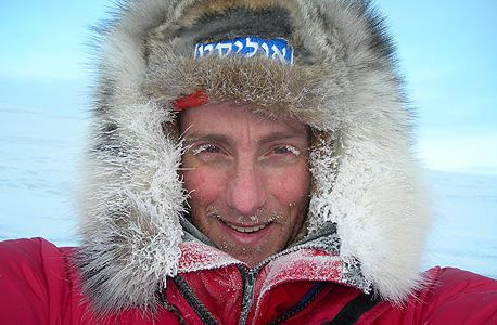 """בחציית הקוטב הצפוני. """"הטמפרטורה הגיעה למינוס 70 מעלות, ונאלצנו להזמין חילוץ"""""""