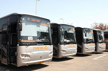 Inter-city buses in Israel. Photo: Zvika Tishler