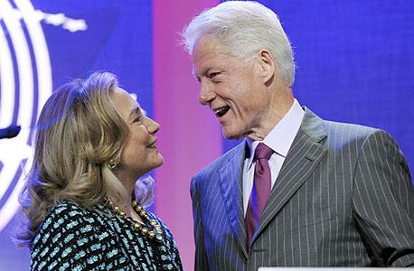 שברו שיא: כך הצליחו ביל והילרי קלינטון לגייס 1.4 מיליארד דולר