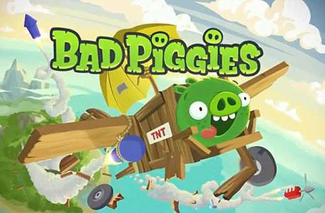 """בדיקת """"כלכליסט"""": Bad Piggies - החזירים פורשים כנף"""