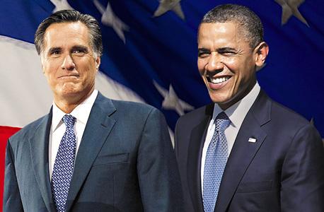 ברק אובמה מיט רומני , צילום: בלומברג, איי אף פי