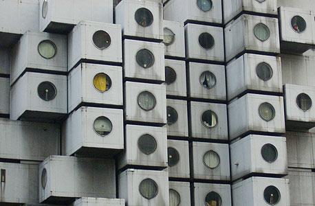 נקגין, מגדל הקפסולות בטוקיו