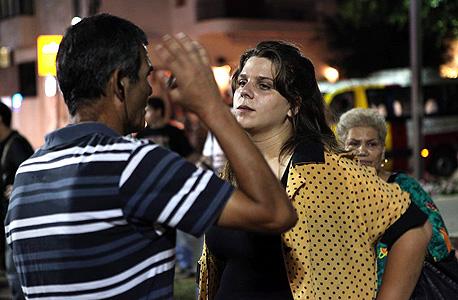 """300 משתתפים בהפגנה בת""""א; ליף הכריזה על הקמת תנועה בהנהגתה"""