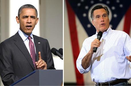 מיט רומני ברק אובמה , צילום: רויטרס