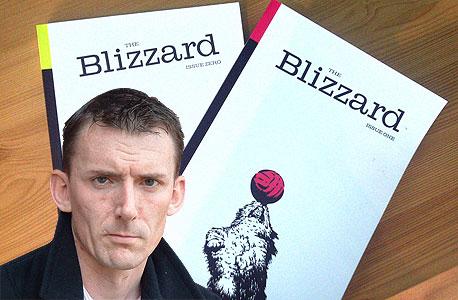 """ג'ונתן ווילסון, עורך The Blizzard. """"אני לא רוצה להצטייר כגורו אבל אין ספק שמה שעושה עיתונות המיינסטרים כיום לא עובד"""""""